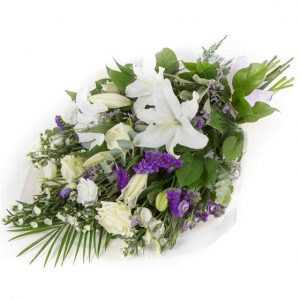 White & Purple Sheaf